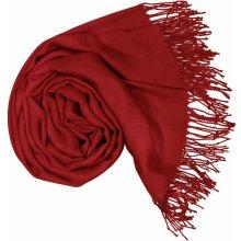 Carlo Romani Dámská červená pašmína P37