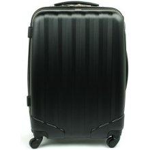 David Jones 1011 skořepinový kufr střední 46x25x66 cm Černá