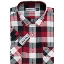 0a639f88677a Greed pánská košile sportovní károvaná SK362