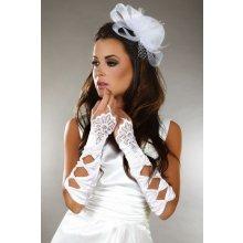LivCo Corsetti model 4 Svatební rukavičky bílé