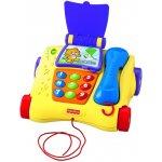 Mattel Fisher Price Mluvící tahací telefon