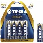 Baterie Tesla Gold+ AA 4ks