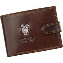 Harvey Miller pánská kožená peněženka 3820 PL02 N hnědá