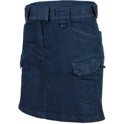 Helikon-Tex sukně dámská URBAN TACTICAL riflová denim mid blue