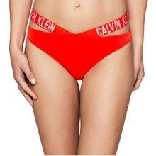 Calvin Klein plavkové kalhotky X Bikini KW0KW00074-602 Red