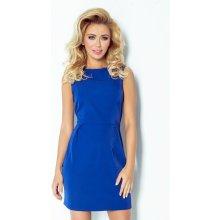 Numoco dámské šaty 103-1 královský modrá 41136d125a