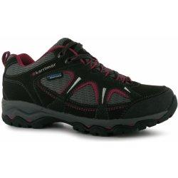 Dámská obuv Karrimor Mount Low Ladies Walking Shoes Black/Pink