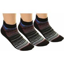 Funstorm Sada ponožek 3pack Belax Black AG-51604-21