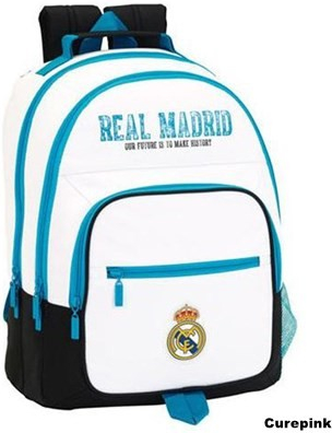 ae5a99249a CurePink batoh Real Madrid Double 21