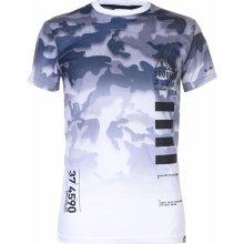 Fabric Camo T Shirt Mens White