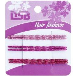 Magnum Hair Fashion klasické barevné pinety do vlasů se třpytkami Pink 46ab89d966