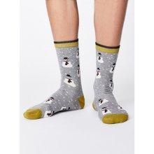 195 Kč GET INSPIRED. Bambusové ponožky Snowman grey fd20c45dcb