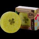 Bomb cosmetics tuhý šampon olivový olej a vůně santalového dřeva 50 g