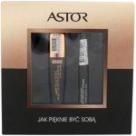 ASTOR Lash Beautifier With Argan Oil řasenka 900 Ultra Black řasenka Lash Beautifier 10 ml + tekuté linky Eye Artist 9 g 090 Black dárková sada