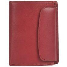 Hellix dámská kožená peněženka P 702 červená