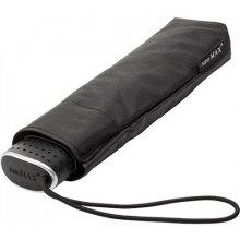 Plochý skládací deštník Malibu černý