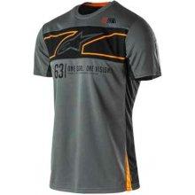 Alpinestars Pánské prémiové šedé tričko RECOVERY SS TEE krátké 1035-42006 18