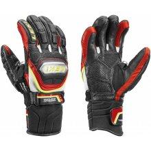 Leki WC Racing Titanium černé/červené /žluté lyžařské rukavice