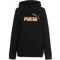 Dámská mikina Puma Tape Hoodie Ladies Black RoseGold 50cdc4a5d8