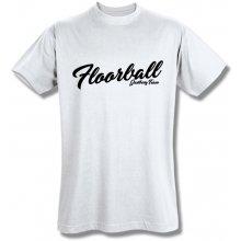 Style T Shirt Floorball Bílá
