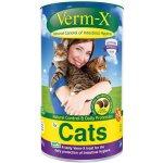 """Verm-X, pamlsek a přírodní prostředek na pravidelné """"bezchemické"""" odčervení kočky 60g"""