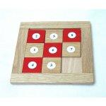 Dřevěná didaktická hračka Čísla