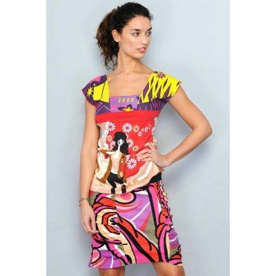 H.H.G. Madrid dámská letní sukně barevná barevná