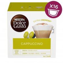 Nescafé Dolce Gusto Cappuccino kávové kapsle 16 ks
