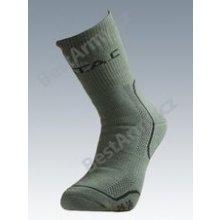 c0e323a6e3b Batac ponožky se stříbrem Thermo - zelené