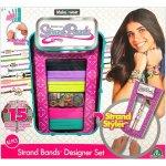 Make2wear Designérský set splétač náramků růžový