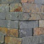 Kamenný obklad roh ALFISTONE, multicolor břidlice, toušťka 1-2cm, rozměry: 15 x 30 cm / 15 x 60 cm,