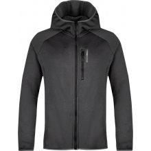 LOAP GROVE pánský sportovní svetr šedá melange