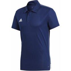 5aa6178185 Adidas Performance CORE18 POLO Tmavě modrá   Bílá