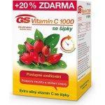 GS Vitamín C 1000 se šípky 120 tablet