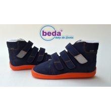 Beda Barefoot mandarin zimní s membránou BF 0001 W MK vyšší Blue 1d2b8fbe42