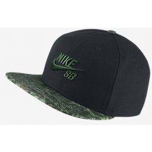 NIKE SB SEASONAL SNAPBACK CAP BLACK/BLACK/GORGE GREEN