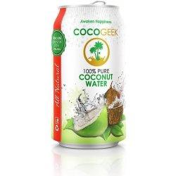 CocoGeek 100% kokosová voda 330 ml