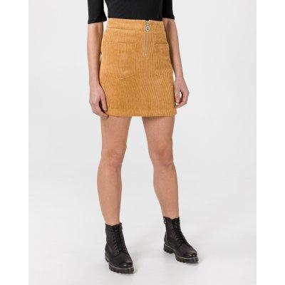 Vero Moda Cordatine sukně dámské žlutá oranžová
