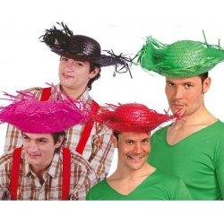Karnevalový kostým Mexický klobouk sort. barevný ccefa25fac