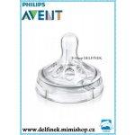 Philips Avent náhradní dudlík natural 2 ks transparentní