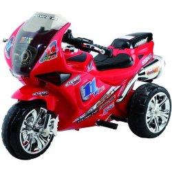 Baby Mix Sportovní elektrická motorka červená