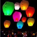 Lampiony štěstí mix barev