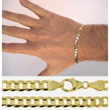 Briline pánský zlatý náramek 3040468n