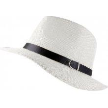 Elegantní klasický pánský klobouk bílý 494ed865fb