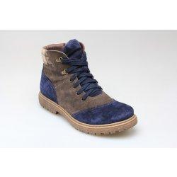 2cb1bfab02c Dámská obuv SANTÉ EKS 605-5A BROWN-NAVY zdravotní zimní