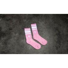 Champion Reverse Weave Crew Sport Socks růžové   bílé 65a7c08dcd