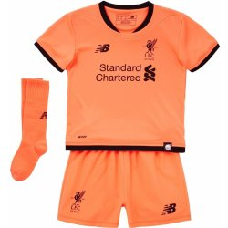 huge discount 7c9b0 4e671 New Balance Liverpool Third Mini Kit 2017 2018 Orange