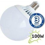 TIPA Žárovka LED G120 E27 18W bílá teplá Al