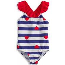Dívčí plavky KNOT SO BAD HEART modré dcd3dd529b