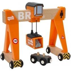 Auta, bagry, technika BRIO Kontejnerový překladač